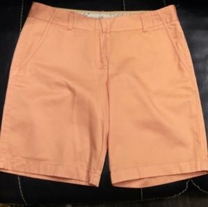 J. Crew Shorts - J Crew Weathered/Broken In Coral Chino Shorts
